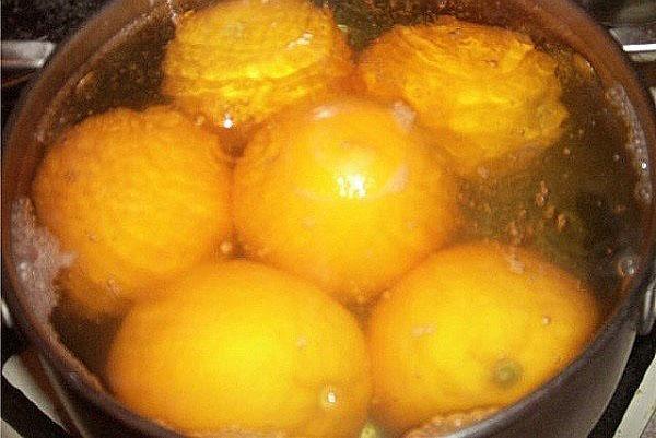 проварить апельсины