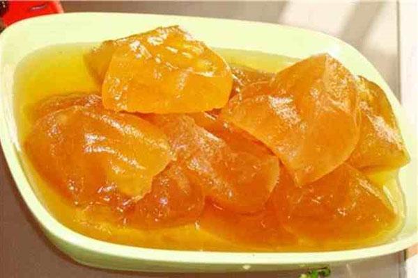 варенье из дыни и персиков