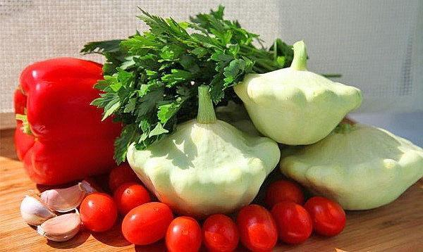 рецепты салатов из патиссонов консервация