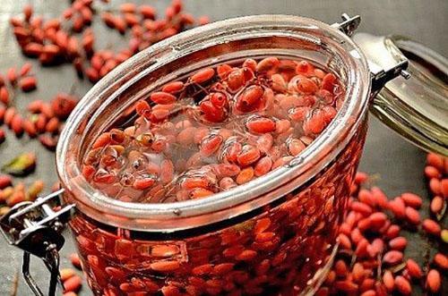 барбарис как приготовить компот