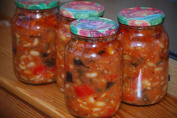 Рецепт консервации салатов на зиму с