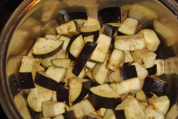 фасоль баклажаны стручковая рецепт приготовления