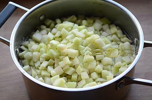 выложить корки в сироп и проварить