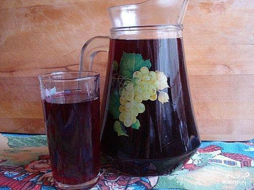 компот из черемуи черной рецепт на зиму