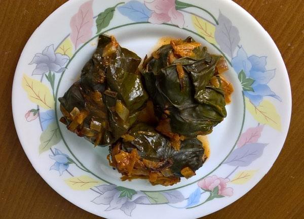 Голубцы с листьями свеклы рецепт пошагово