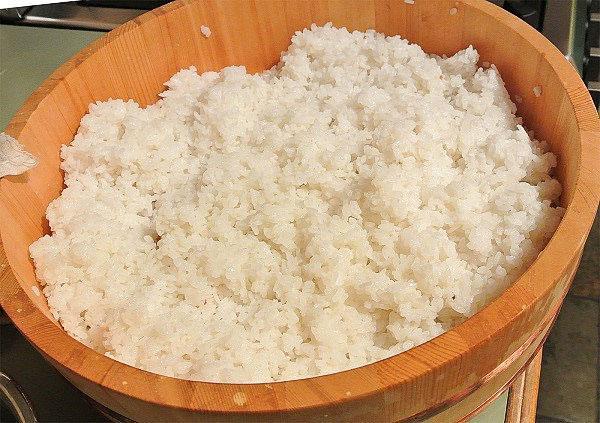 отвариваем рис для голубцов