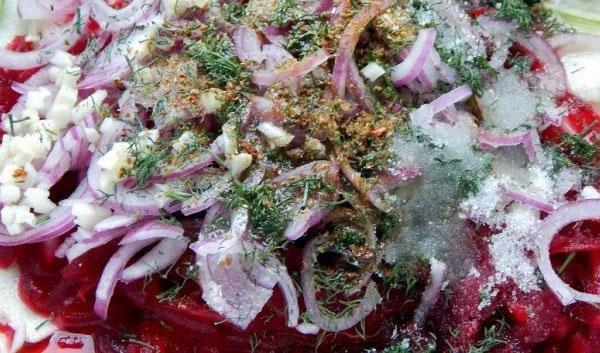 Рецепты салатов  из свеклы и моркови