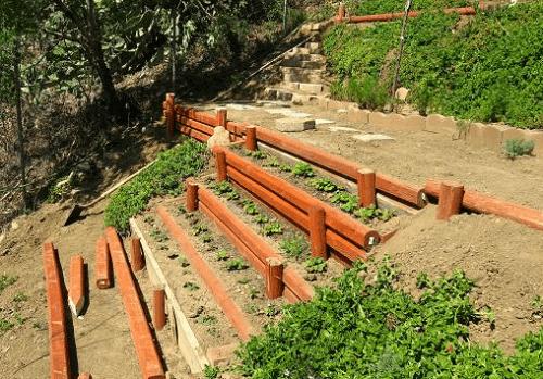 стенки из дерева