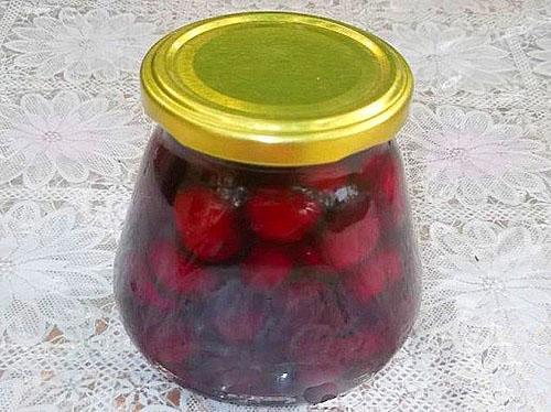 вишневое варенье пятиминутка