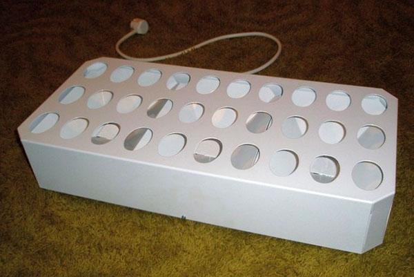 закладка яиц в инкубатор