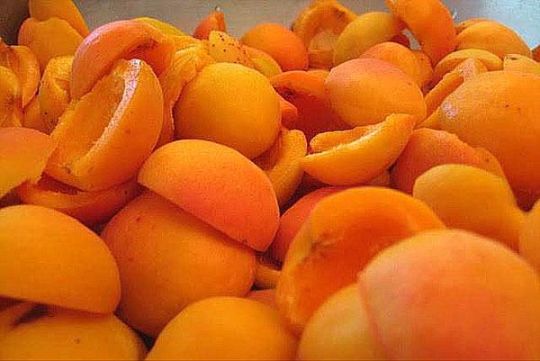 подготовка абрикос