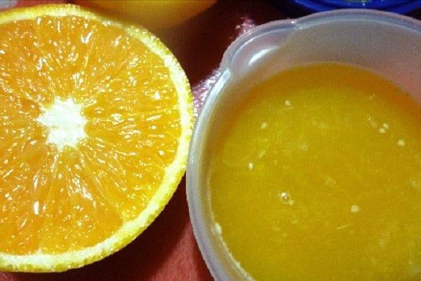 Апельсиновый сок на зиму рецепт с фото