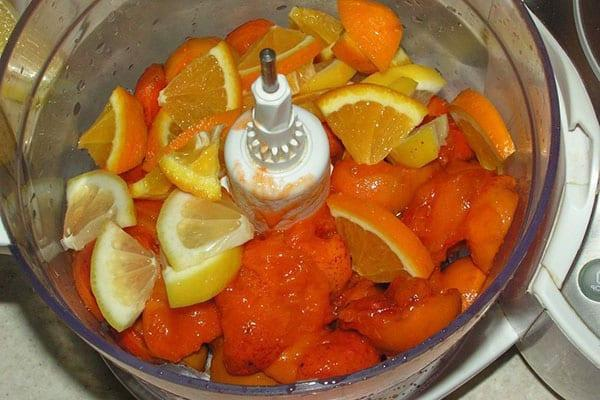 фрукты измельчить блендером