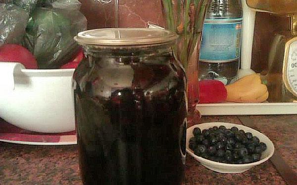 витаминный компот из черники