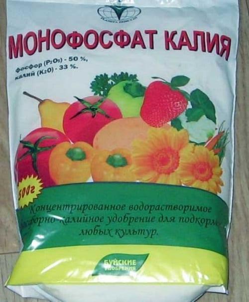 Фосфорно калийное удобрение для цветов