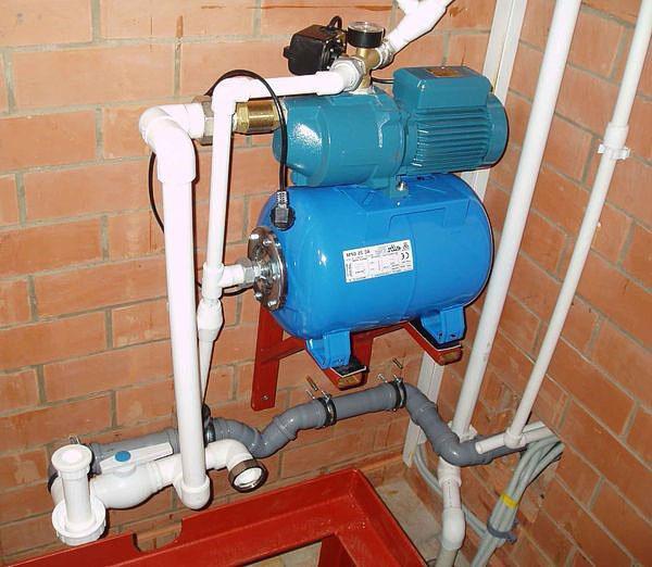 подключение к системе водоснабжения