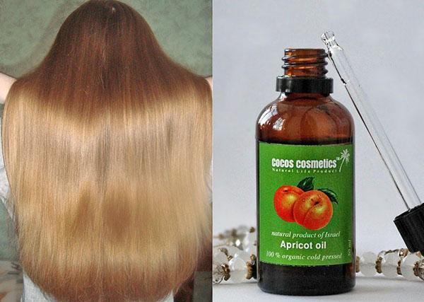 результат применения абрикосового масла