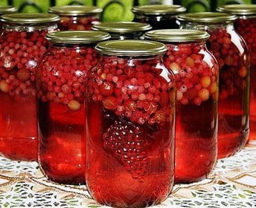 компот ассорти из ягод