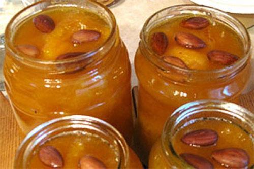 варенье из долек абрикос с косточками