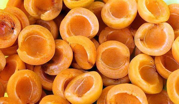 дольки абрикос без косточек