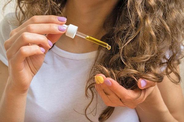 масло персика для волос