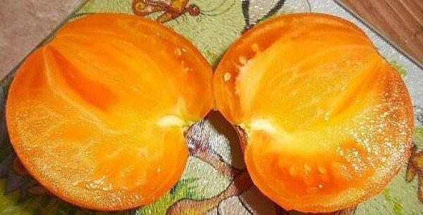 сочная сладкая мякоть плодов