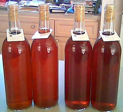 Как осветлить домашнее сливовое вино