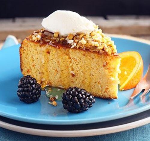 пирог с медом и апельсином