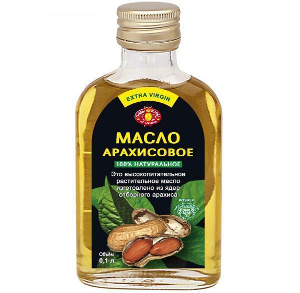 нерафинированное арахисовое масло