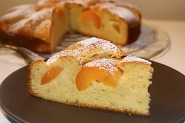 вкусный пирог с абрикосами