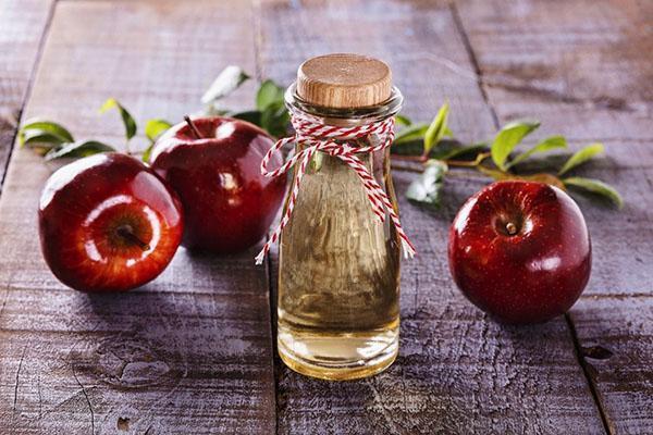 яблочный уксус против бородавок