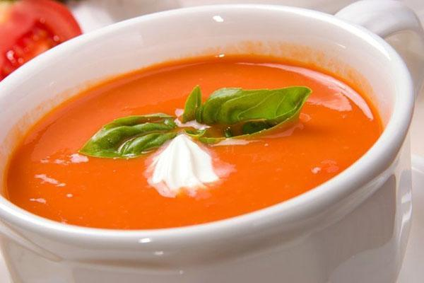 диетический суп с базиликом