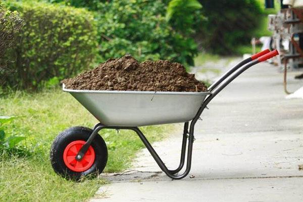 параметры садовой тележки
