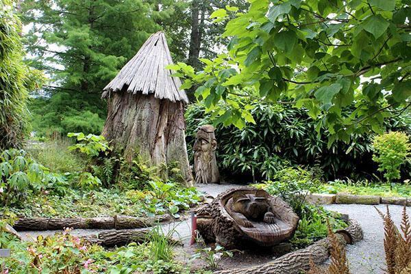 уголок дикой природы в саду