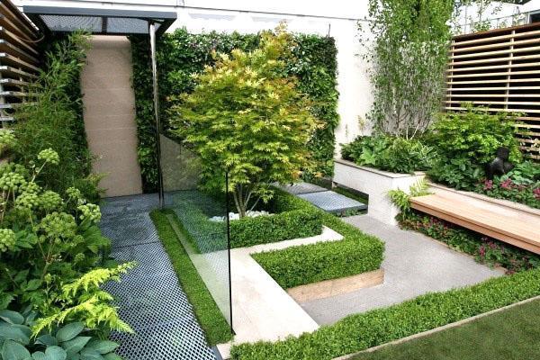 зимний сад в стиле модерн