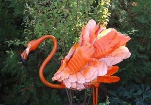 удивительный фламинго