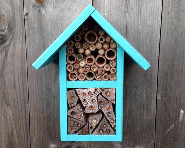 дом для одиночных пчел