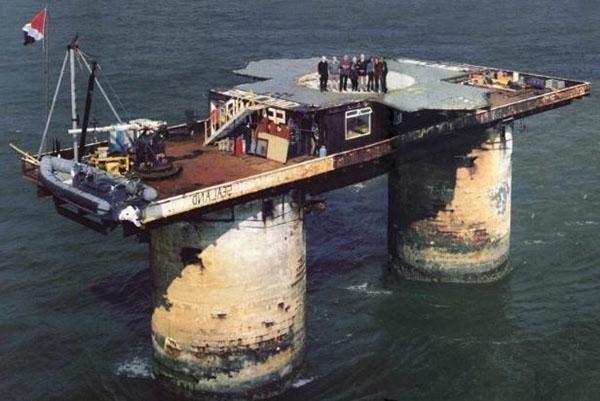 жильцы нефтяной платформы