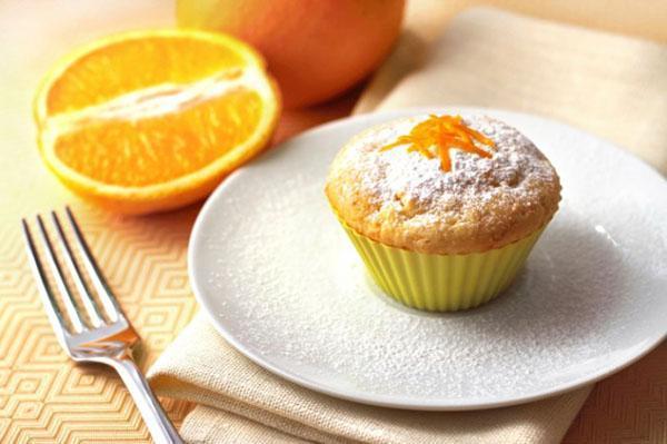 ароматный апельсиновый кекс