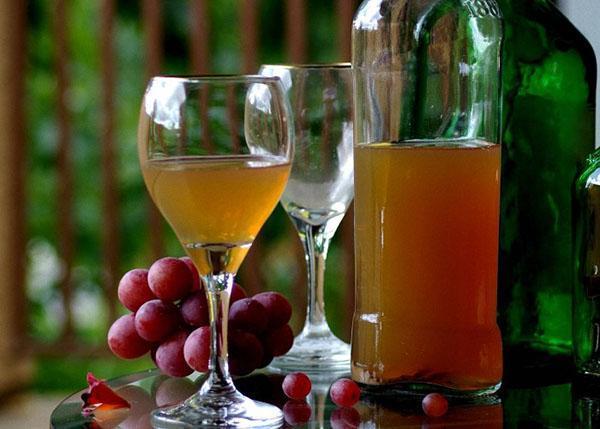 домашнее неочищенное вино