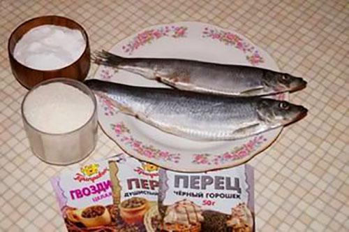 специи для засолки рыбы