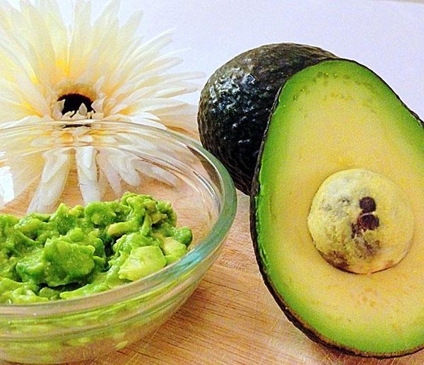 маска из авокадо для жирной кожи