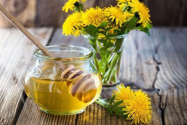 мед из одуванчиков