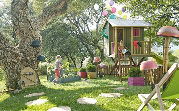 место обустройства детской площадки
