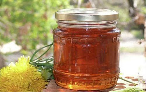 одуванчиковый мед готов к употреблению