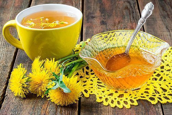 приготовленный дома мед из одуванчиков