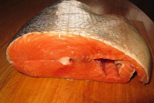 красная рыба для засолки