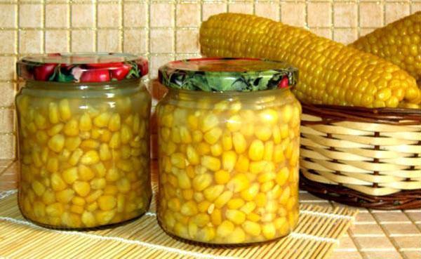 Консервирование кукурузы в домашних условиях в зернах 546