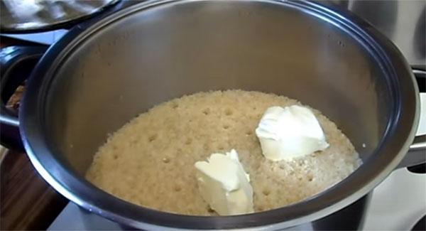готовим в мультиварке кашу пшеничную