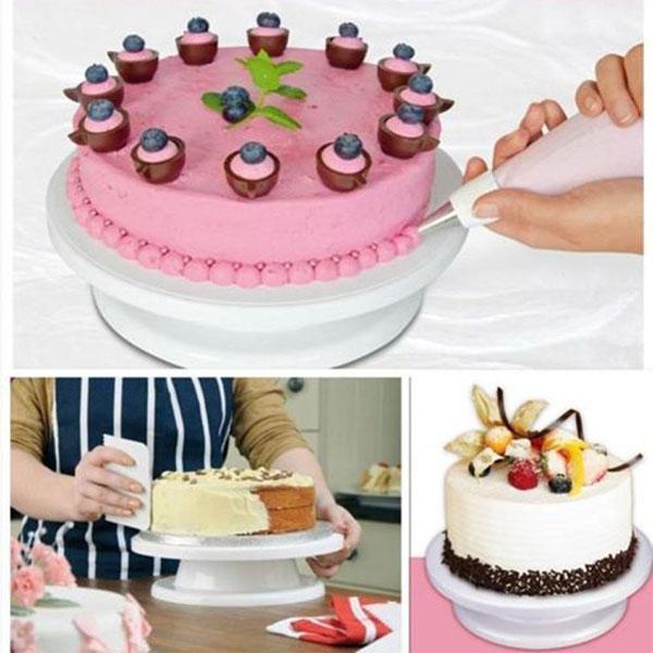 вращающаяся подставка для оформления торта